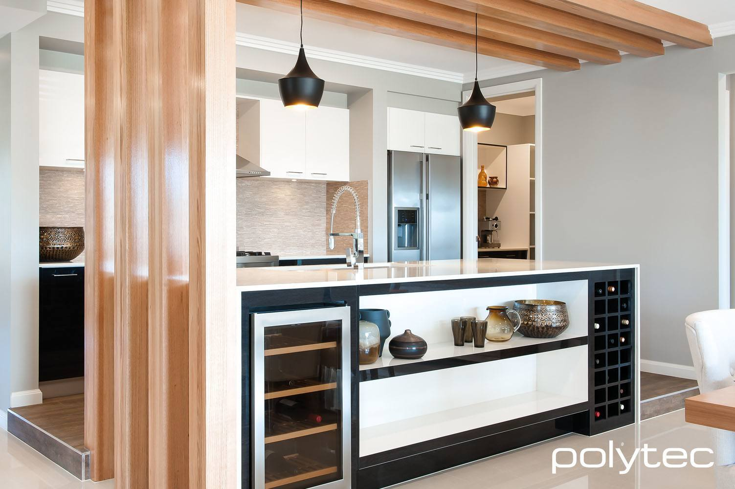kitchen design min bar polytec